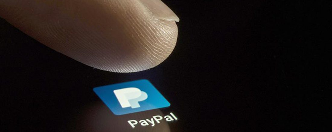 Paypal: зарегистрировать