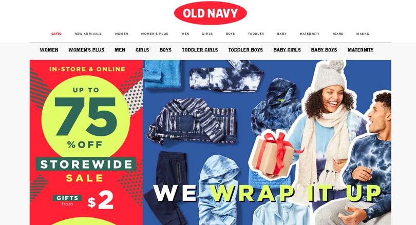 Old Navy – официальный интернет магазин